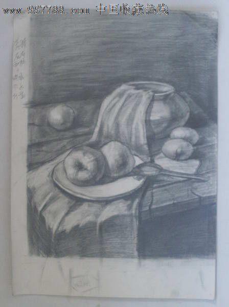 铅笔画猴子可爱素描