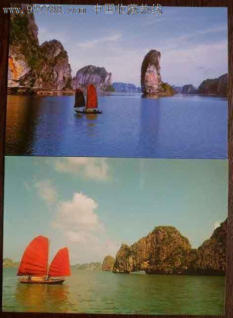 国外山水风光明信片10张