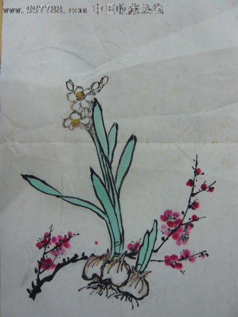 写意水仙画法步骤