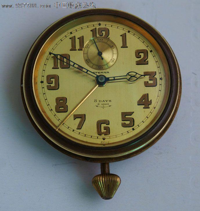 时钟的秒针手绘