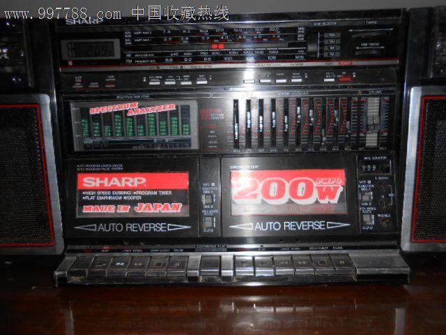 日本原装夏普939收录机
