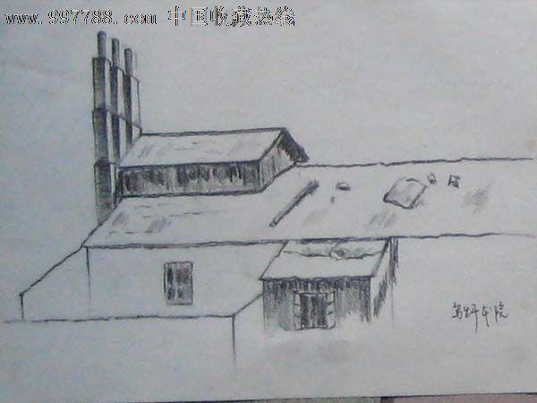无款铅笔画——02
