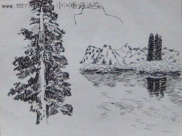 无款钢笔画——06