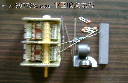 自装矿石收音机基本组件