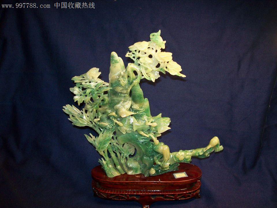 盆景树脂做的仙鹤