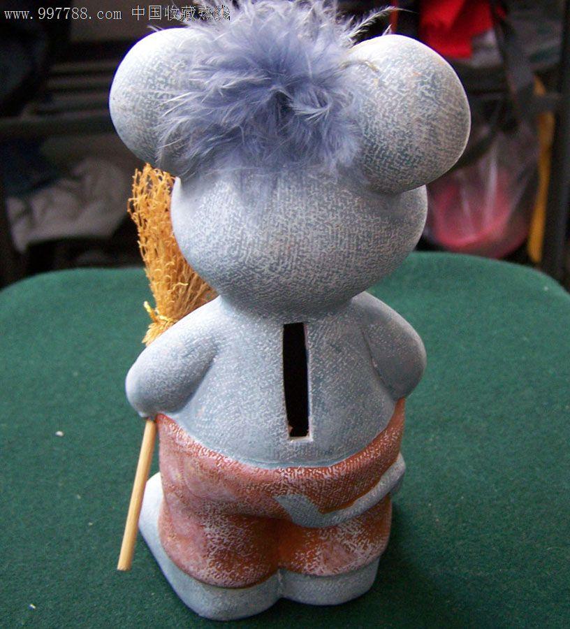 手工绘画制作石膏像卡通(米老鼠)