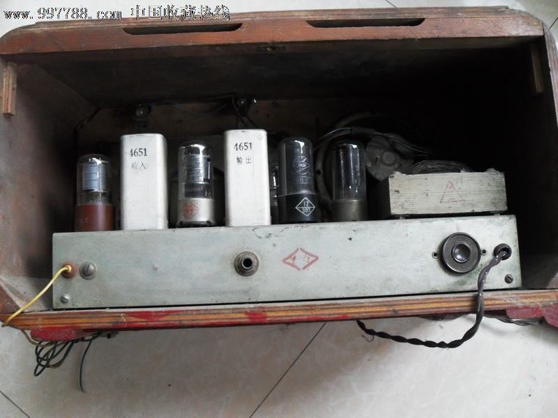 上海155型电子管收音机