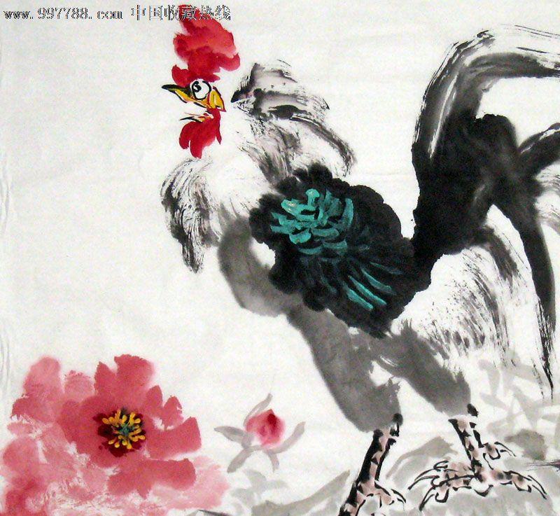 名家牡丹画/花鸟图/国画/收藏送礼/装饰精品/21968图片