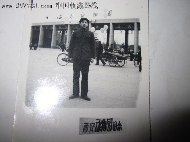 70年代青年西安动物园留念照