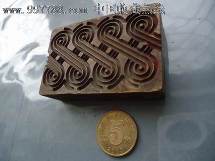 花纹铜印章_价格500