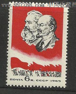 马克思,列宁像