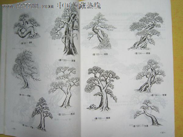 树木盆景_装饰/设计图册_红星照中国【7788收藏__中国