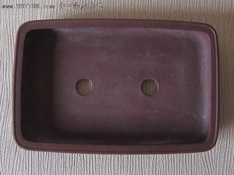 张秋平制紫砂圆角长方形盆