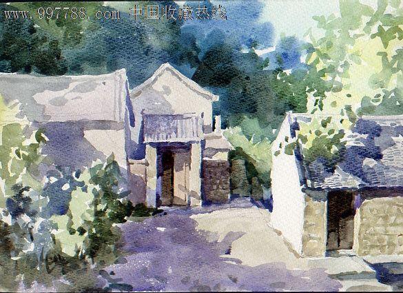 风景画【雅园纸品】_第1张_7788收藏__中国收藏热线