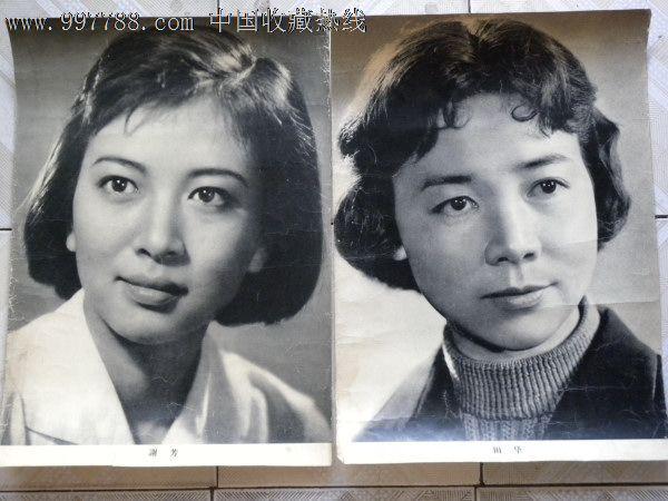 50年代电影明星4开海报-陈强谢添上官云珠崔嵬王丹凤等(14张)