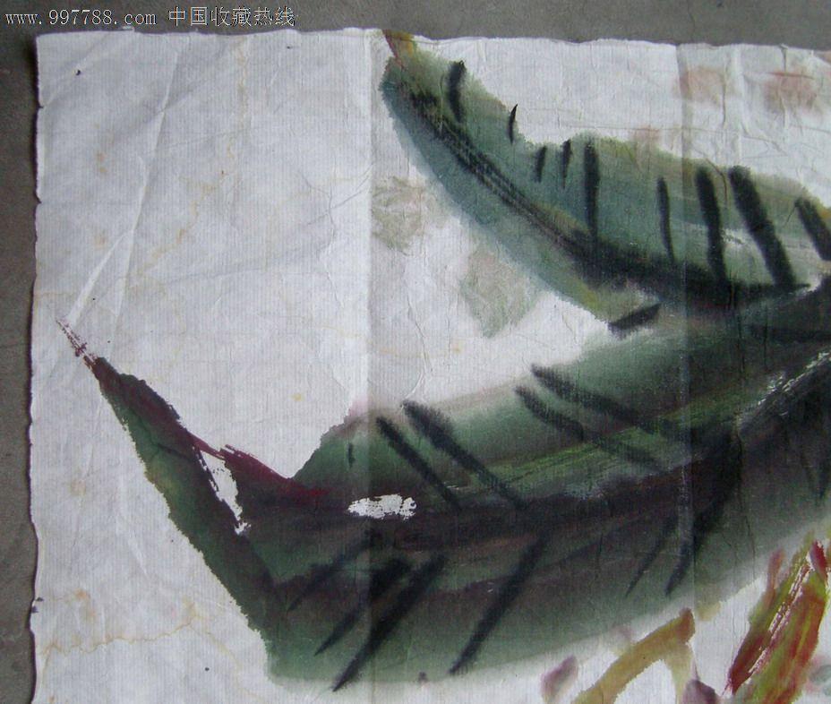 高丽纸装饰画制作步骤