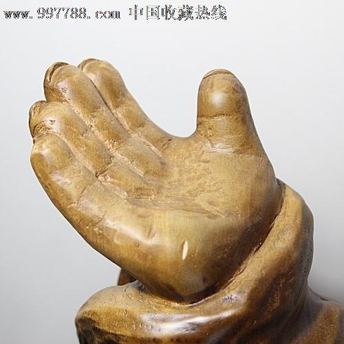 送礼佳品根雕木雕/缅甸金丝楠木雕件/佛像摆件/欢乐佛
