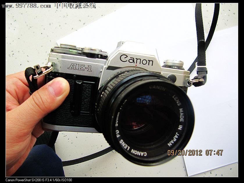 佳能ae-1(世界上第一台嵌入镜头照相机)