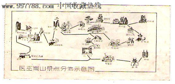 闾山风景区路线图