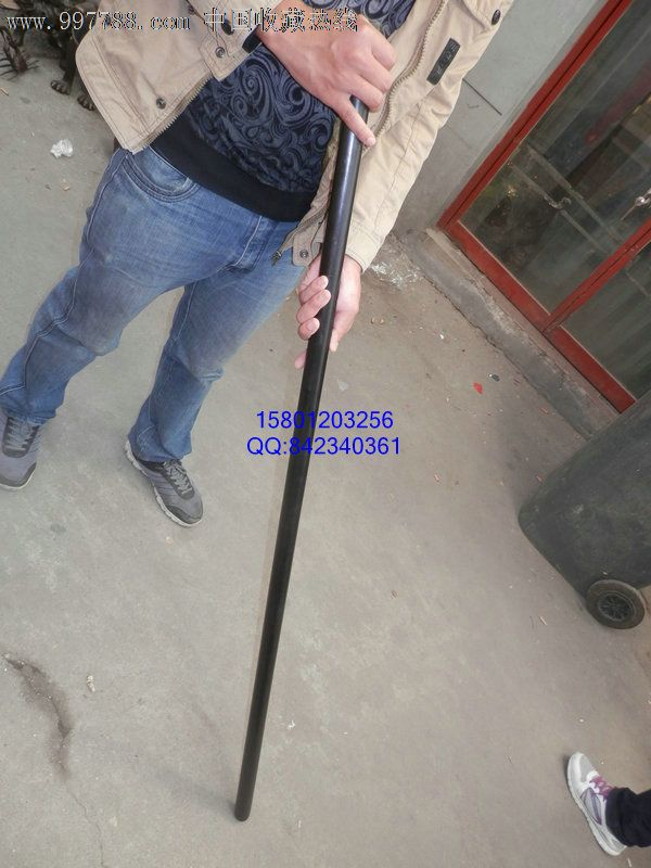 紫光檀木少林棍一根1.5米左右图片