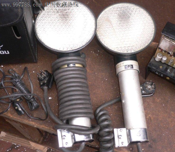 老式照相机闪光灯