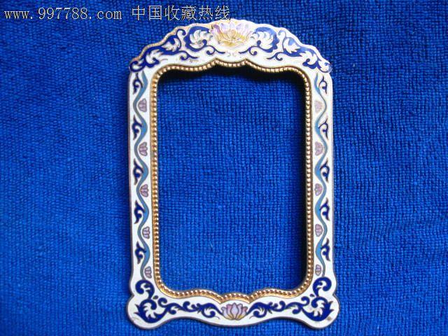 景泰蓝长方形框图片