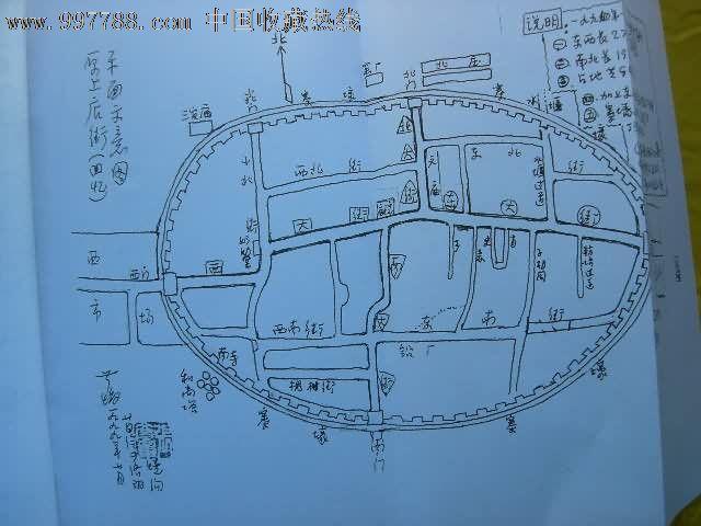古镇设计手绘图