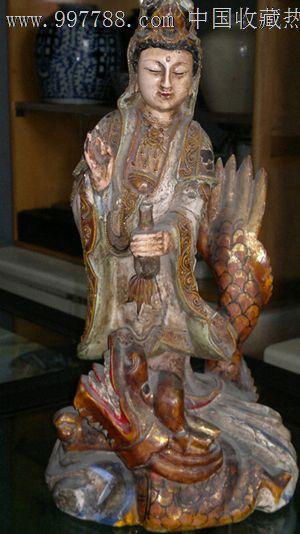 木雕观音菩萨_第1张_7788收藏__中国收藏热线