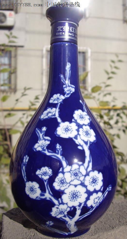红星二锅头1:青花瓷瓶1(梅花)