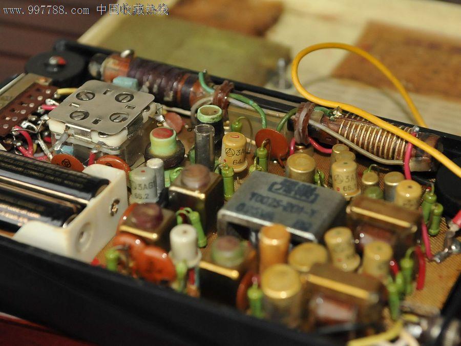 表里一致的美多27a晶体管收音机