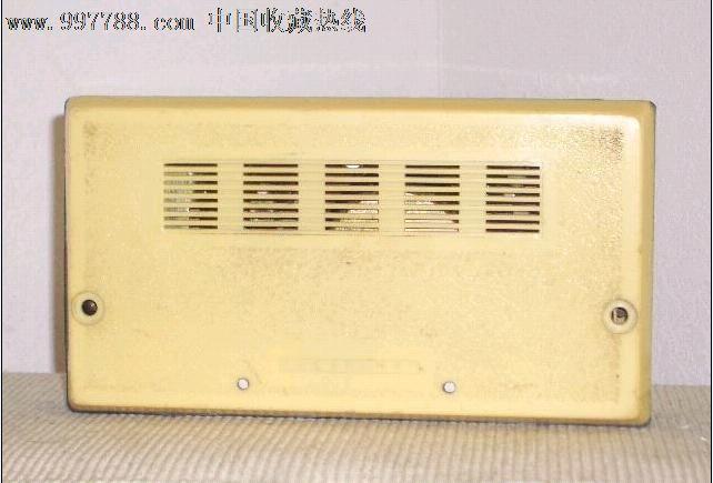 东方红611浮雕收音机带说明书