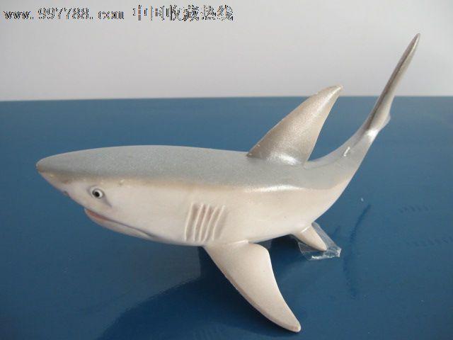 美国正品bliptoys出品海洋动物模型凶猛鲨鱼-大白鲨