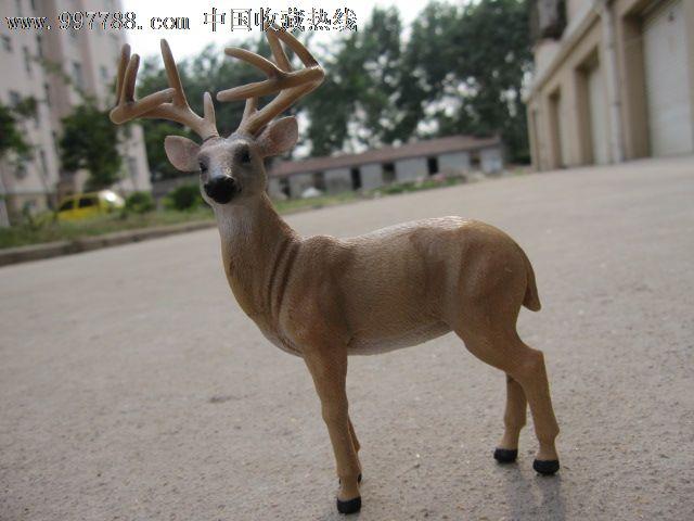 bliptoys出品野生动物模型中国麋鹿/四不像仿真动物珍贵动物_第5张