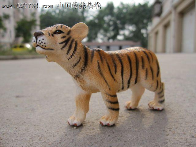 bliptoys出品野生动物模型老虎/孟加拉虎仿真动物可爱小老虎_第5张