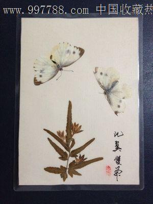 手工制作动植物标本【比翼双飞】_树叶/植物标本_蜀乡