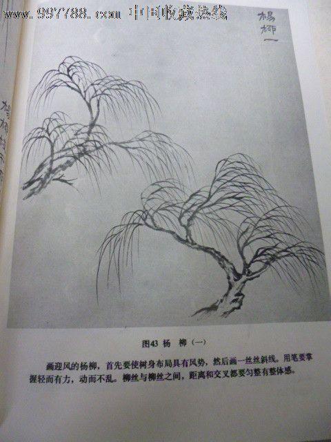 山水画基础技法-国画画册--se14463045-零售-7788收藏图片