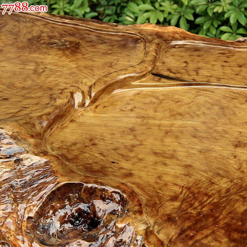 缅甸金丝楠木整体茶台木雕茶桌客厅茶海配实木沙发-圆满ywd108