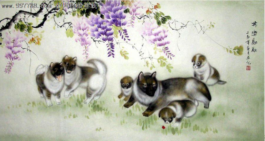 杜陈静·四尺工笔动物画_第1张_7788收藏__中国收藏热线