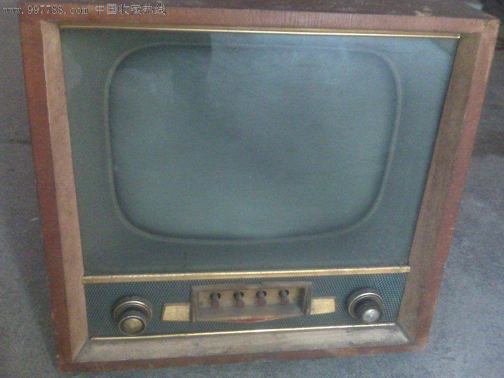 北京牌820-f電子管電視機