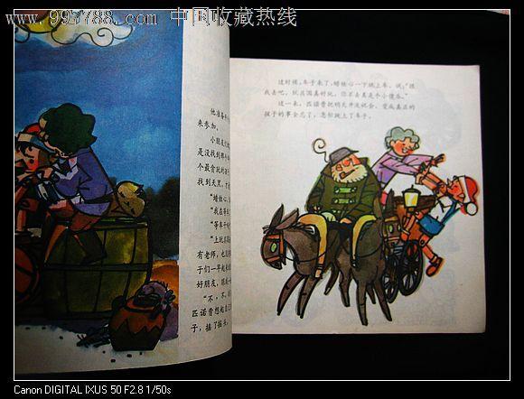 木偶奇遇记(幼儿园图画故事丛书)