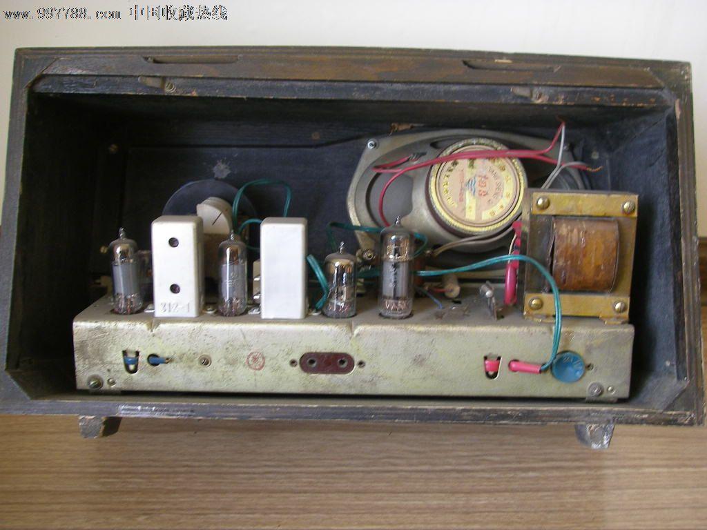 凯歌455-i电子管收音机