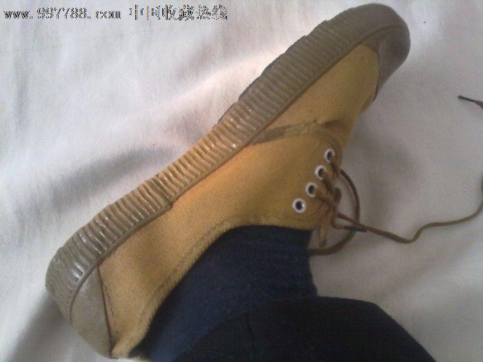 80军鞋黄军鞋旷工鞋护士,年代鞋/工作鞋,视频,朱千亿胶鞋图片
