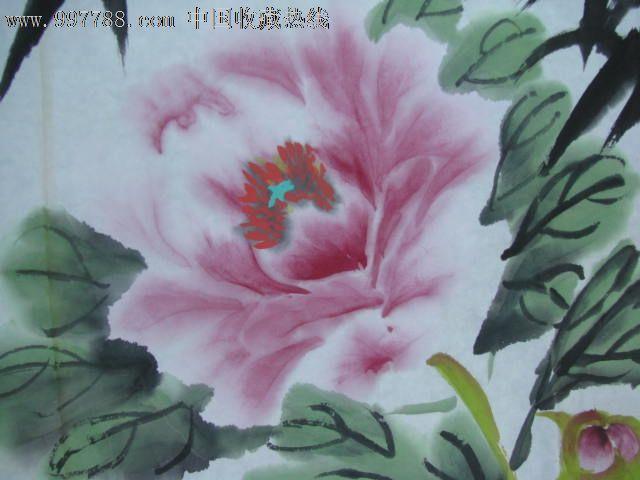 牡丹图-花鸟国画原作--se14754703-零售-7788收藏