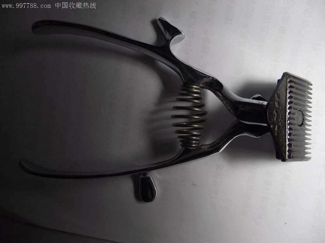 """老上海""""双箭""""手工理发推子"""