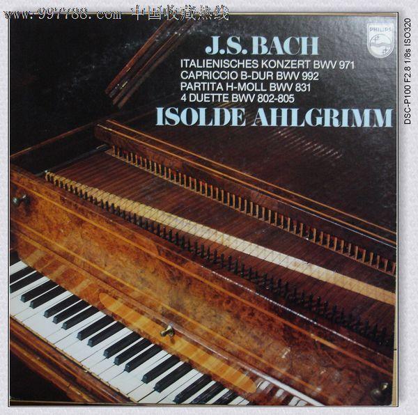 巴赫的古钢琴作品图片