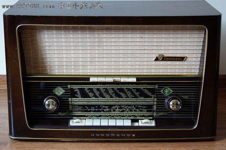 德国电子管收音机诺曼底