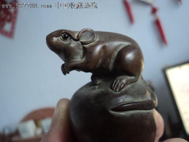 民国木雕老鼠_第1张_7788收藏