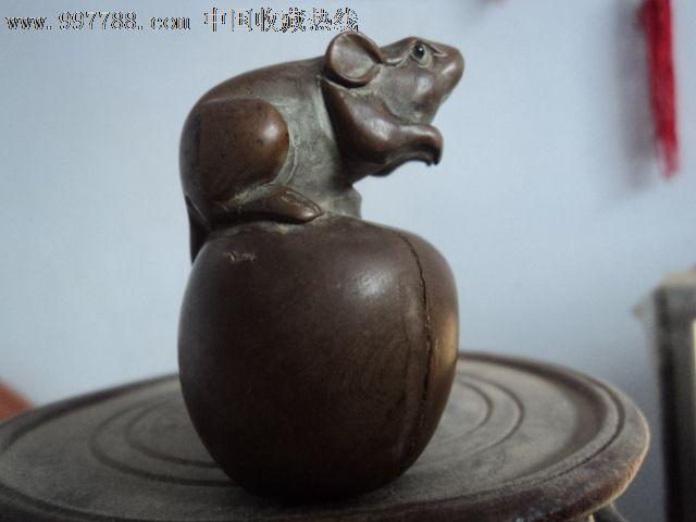 民国木雕老鼠_第5张_7788收藏
