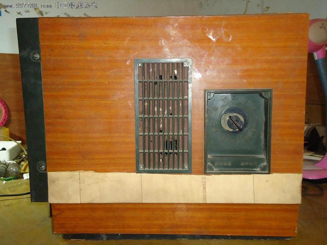 北京牌825-3型电子管电视机
