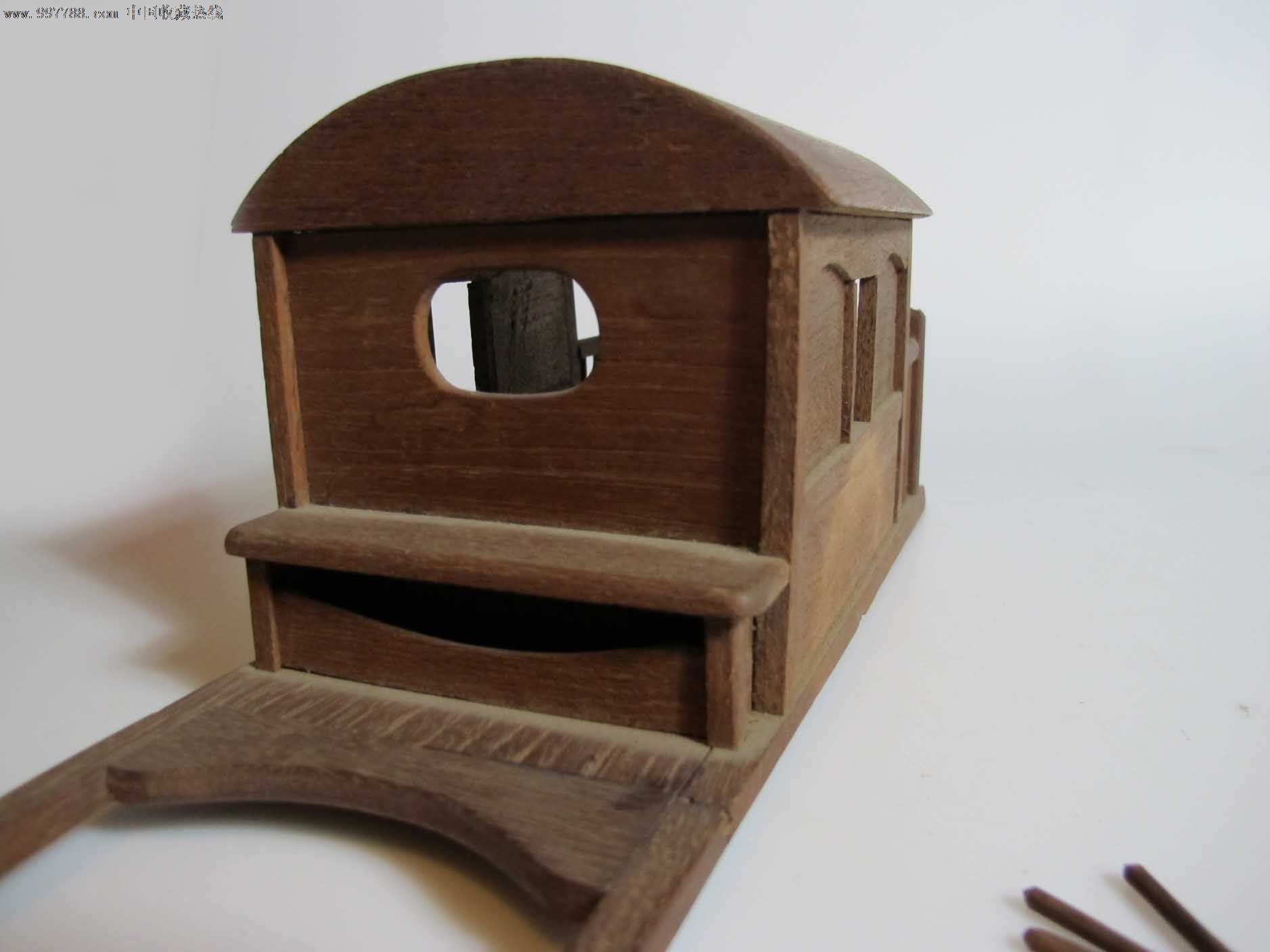 仿古车模型(零件)-木雕摆件--se15214153-零售-7788